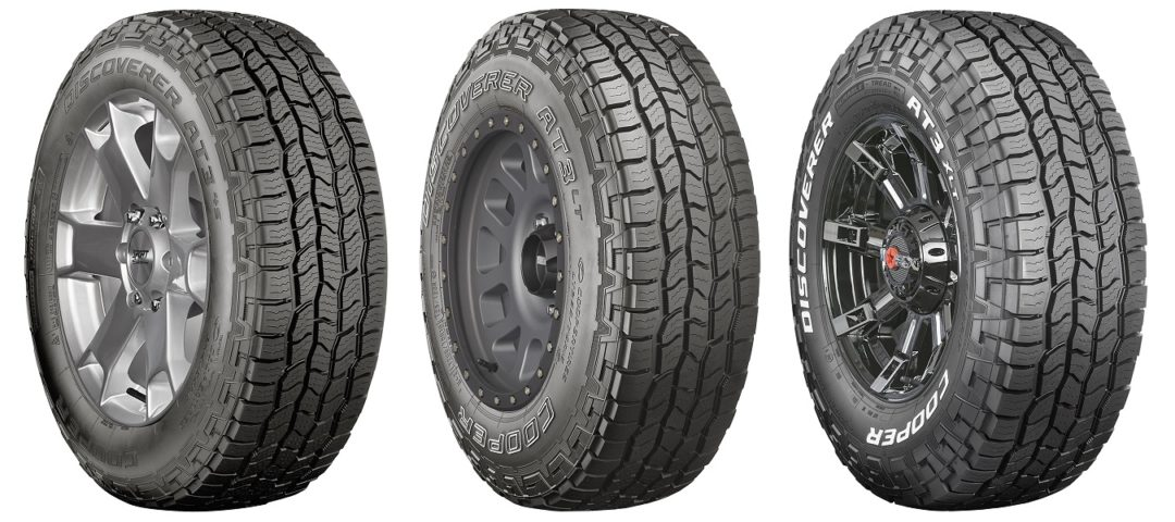 Cooper Unveils Discoverer AT3 Tire Line