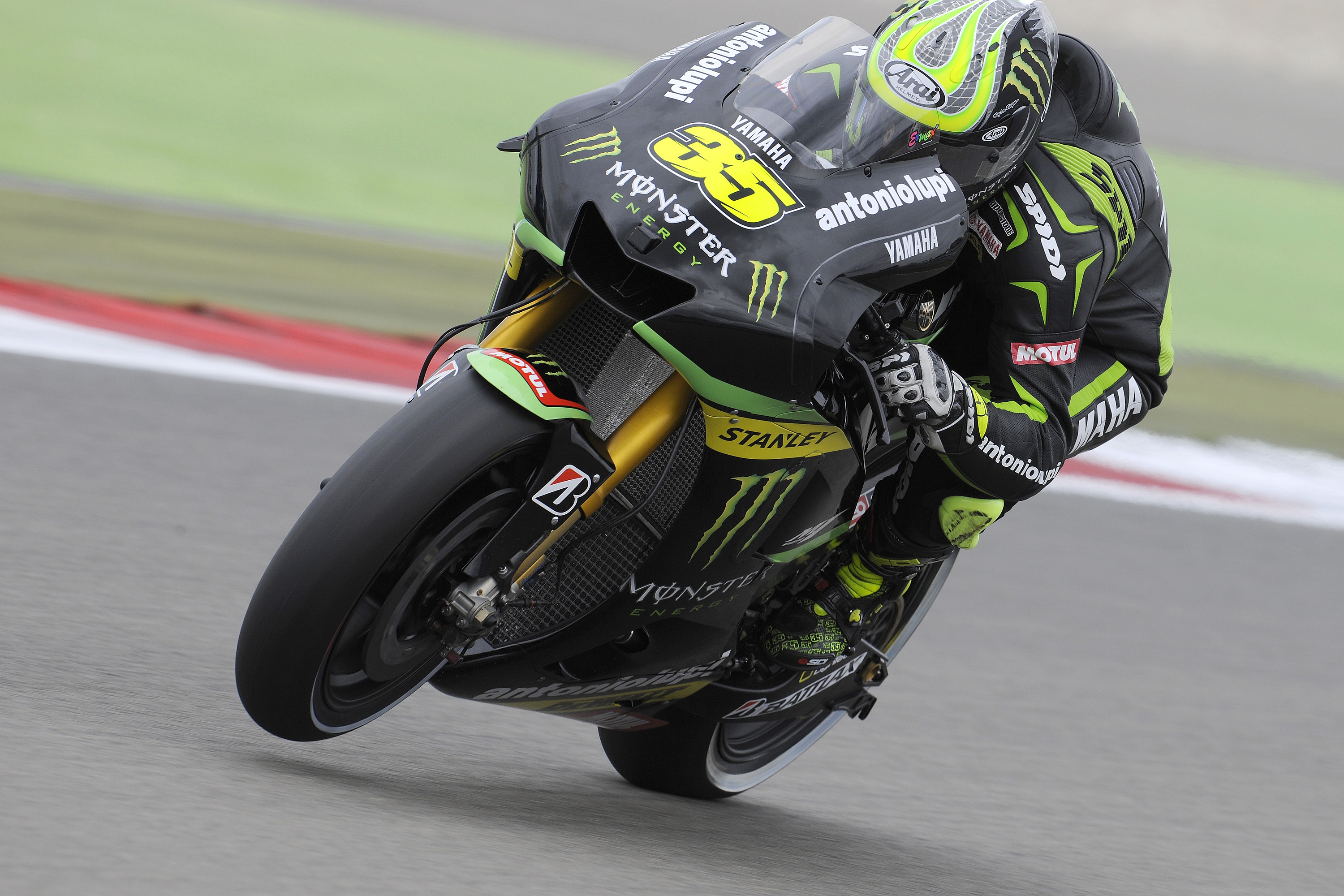 Crutchlow claims first ever MotoGP pole