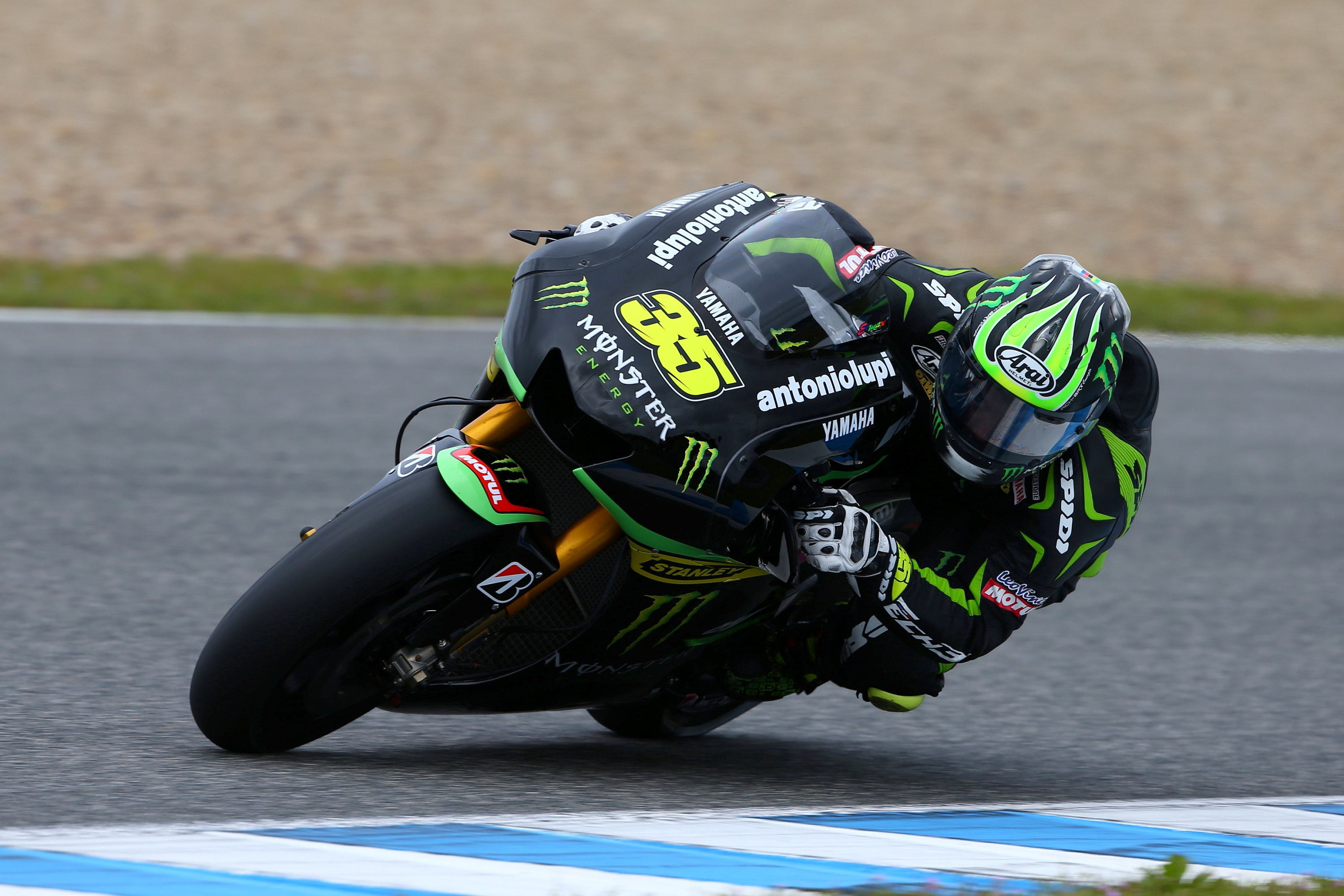 Crutchlow in command at Jerez MotoGP test