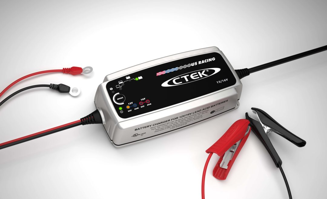 CTEK battery charger covers racing applications