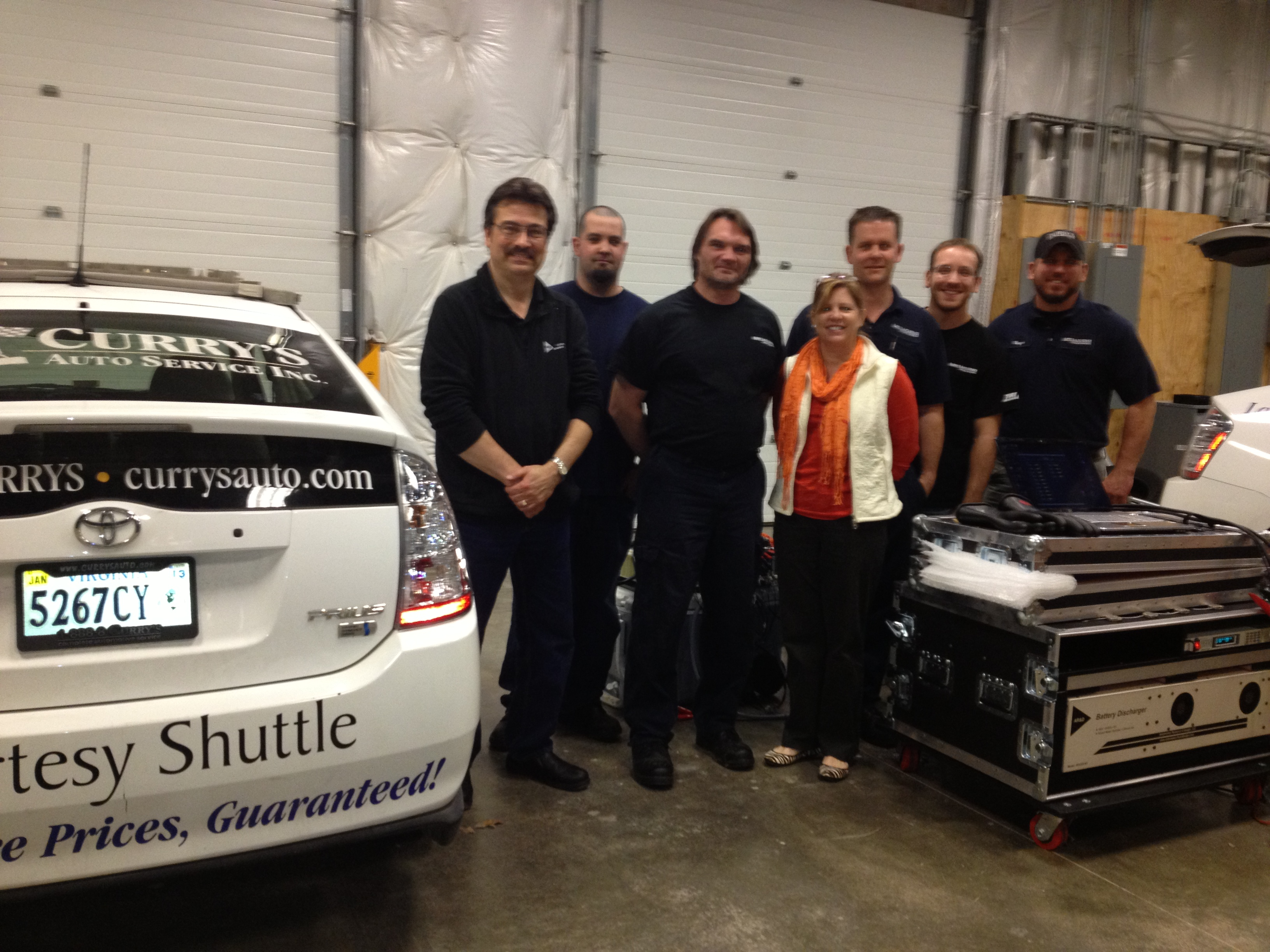 Curry's Auto Service powers up hybrid service