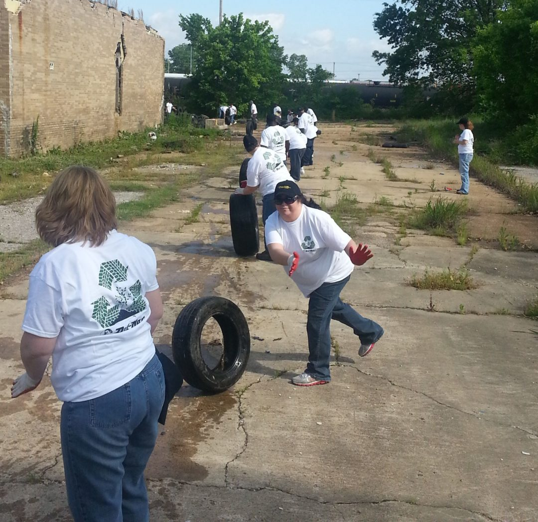 Del-Nat donates $1 for every used tire collected