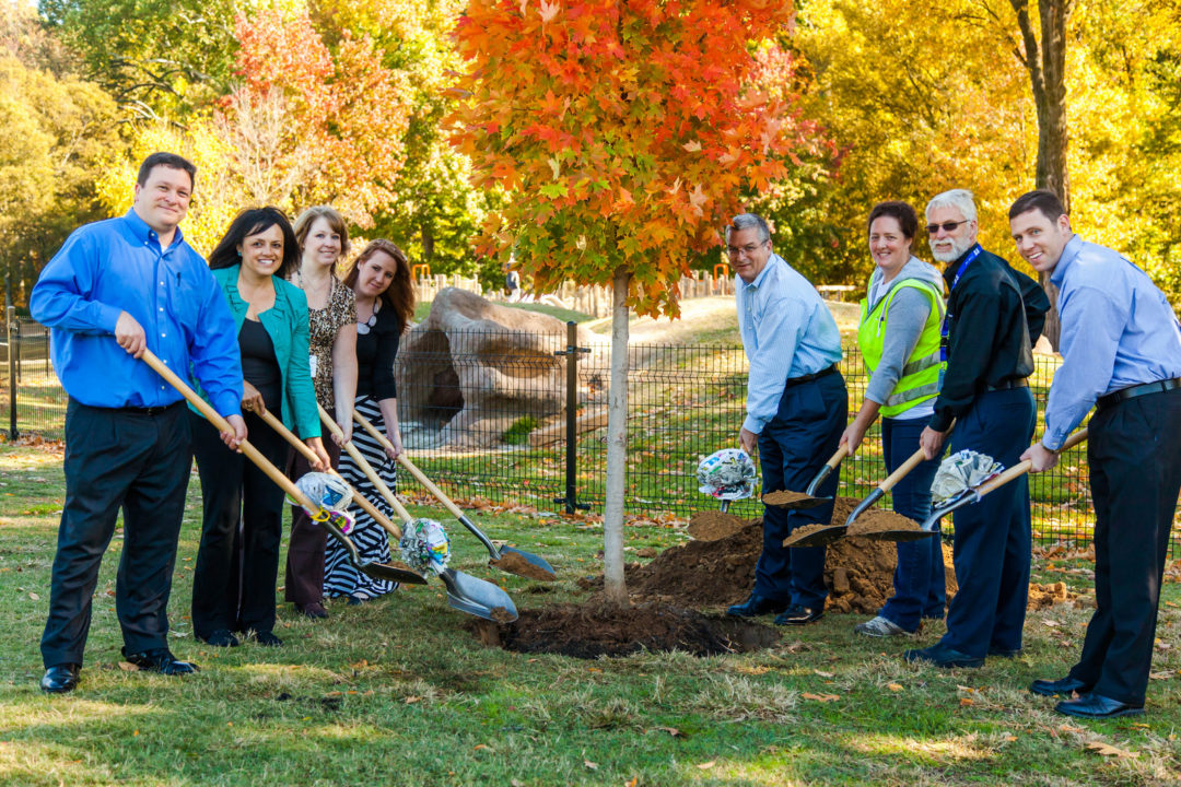 Del-Nat's 'Tires for Trees' program takes root