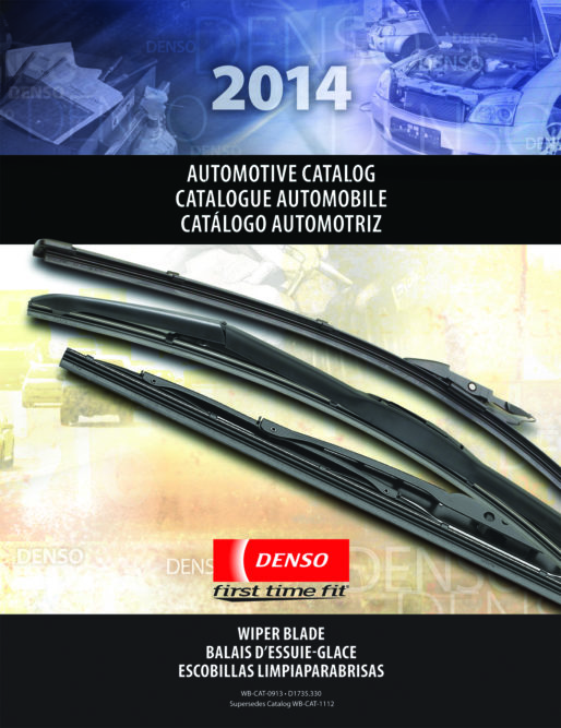 DENSO First Time Fit Wiper Blade Catalog