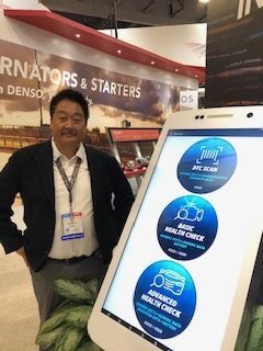 Denso Introduces a Mobile App for Inspecting Vehicles