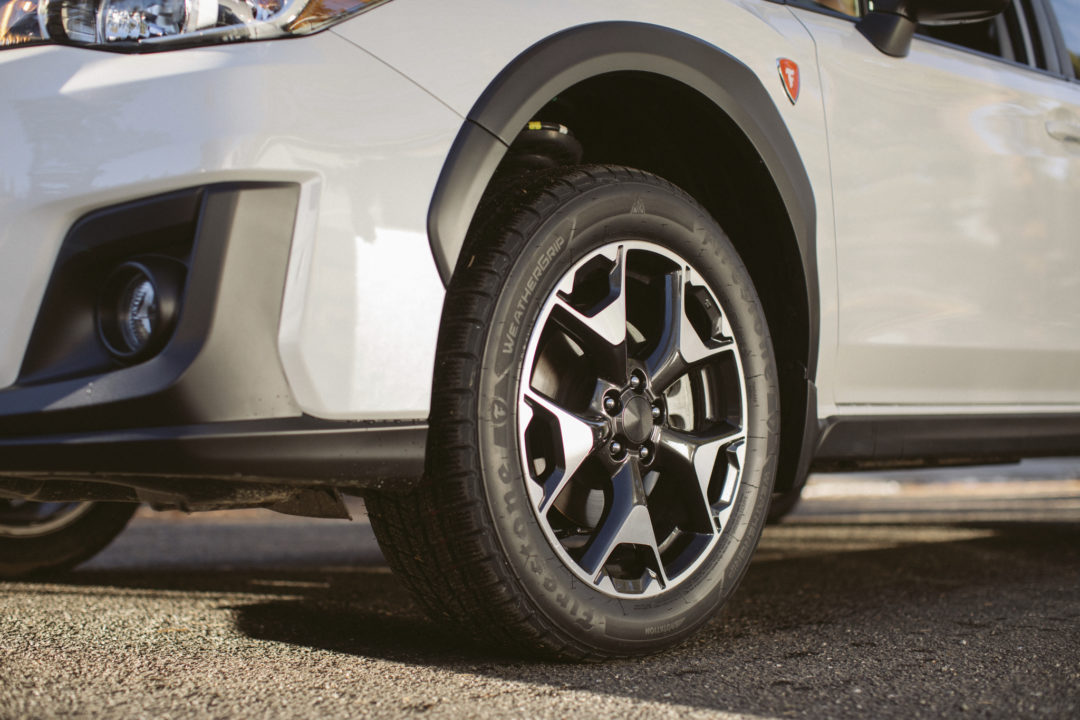 Designed for Traction: the Firestone WeatherGrip