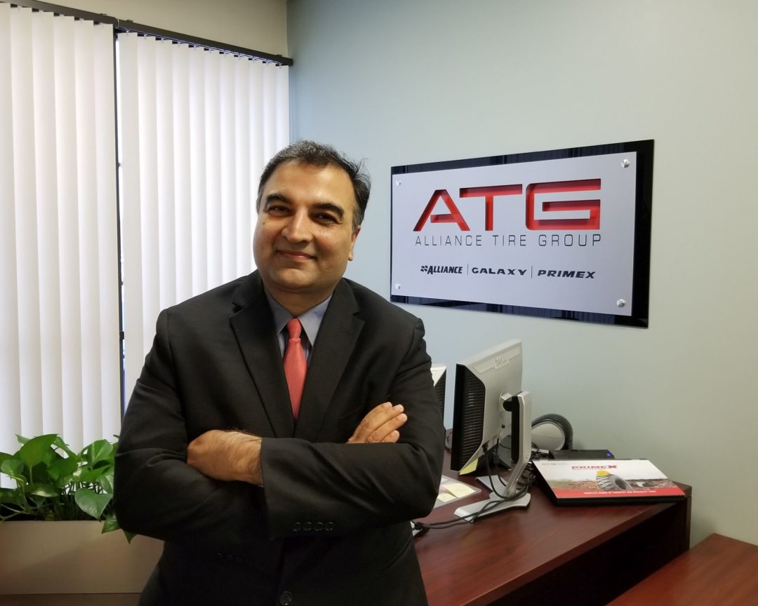 Dhaval Nanavati Is the New President of Alliance Tire Americas