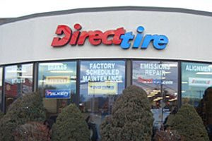 Direct Tire's website: as good as it gets