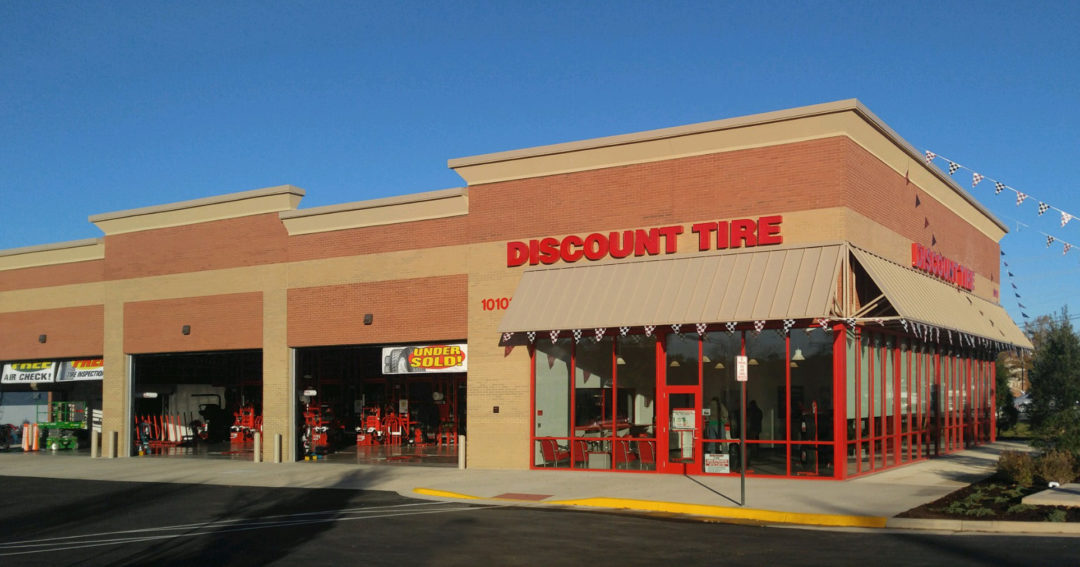Discount Tire Opens Its First Store in Virginia