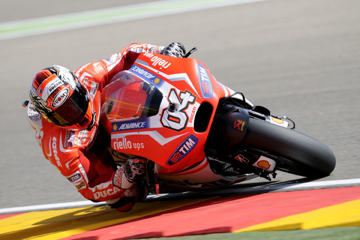Dovizioso on record pace at Aragon practice
