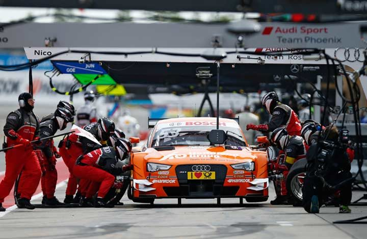 DTM stops at the Monaco of Germany this weekend