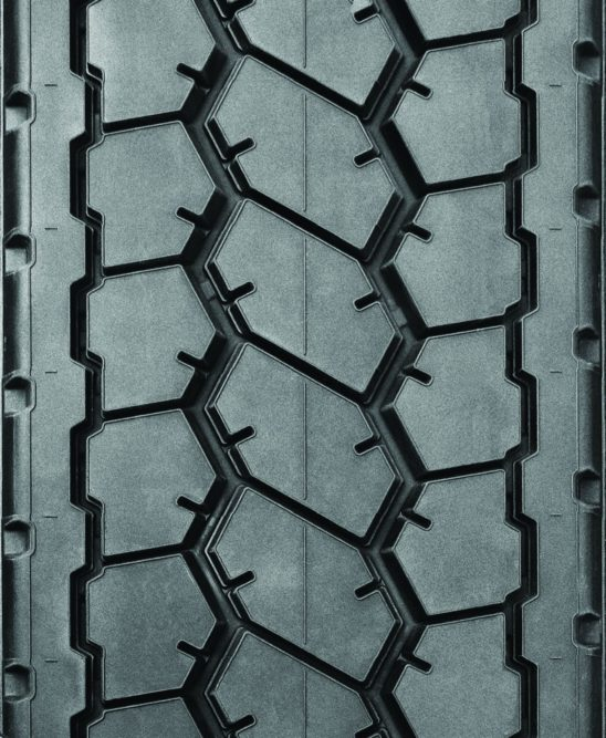 Dual Drive Retread From Oliver Rubber