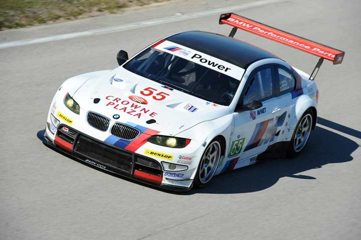 Dunlop and BMW race toward ALMS tire championship