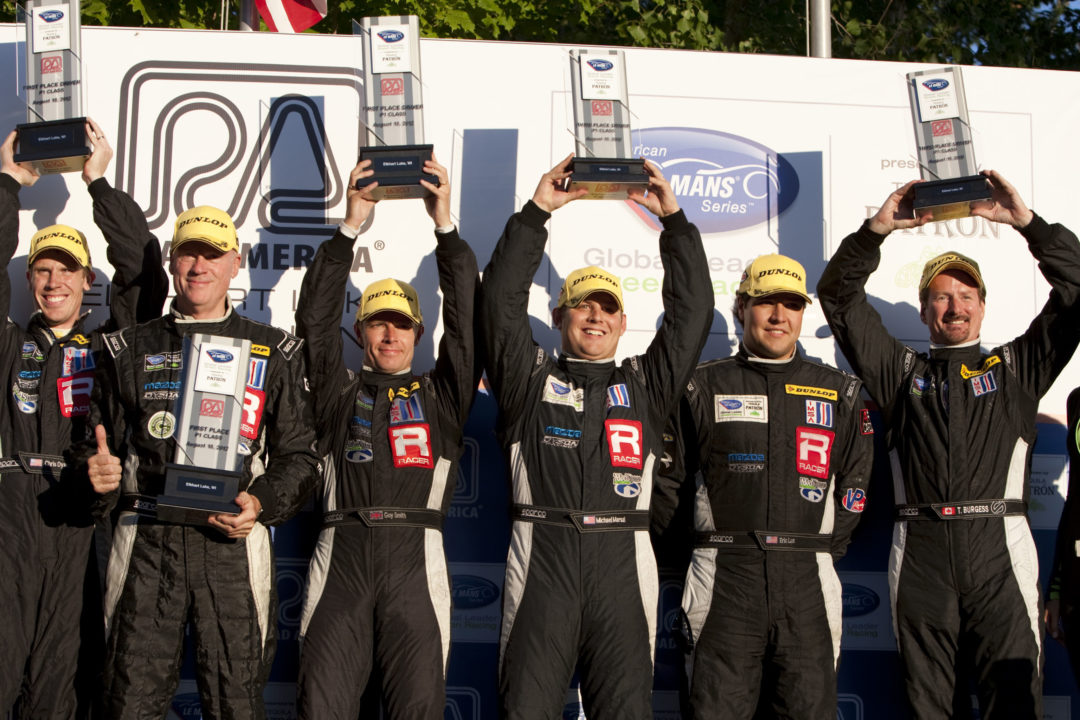 Dunlop Tires take victory in all ALMS open classes at Road America