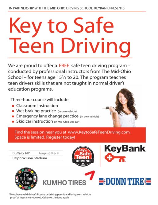 Dunn Tire gets 'key' help with safe driving program for teens