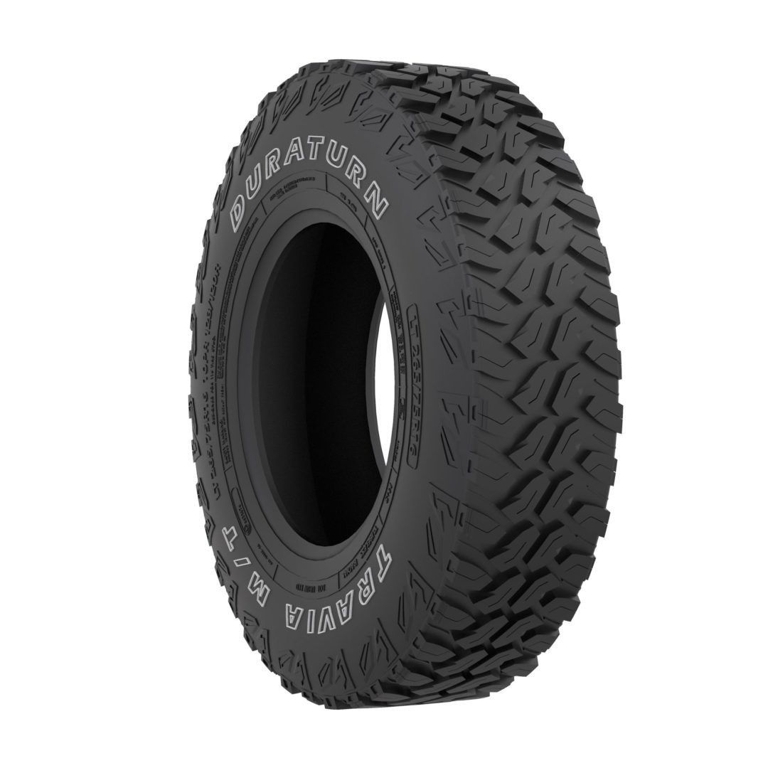 Duraturn Line Has New M/T and A/T Tires
