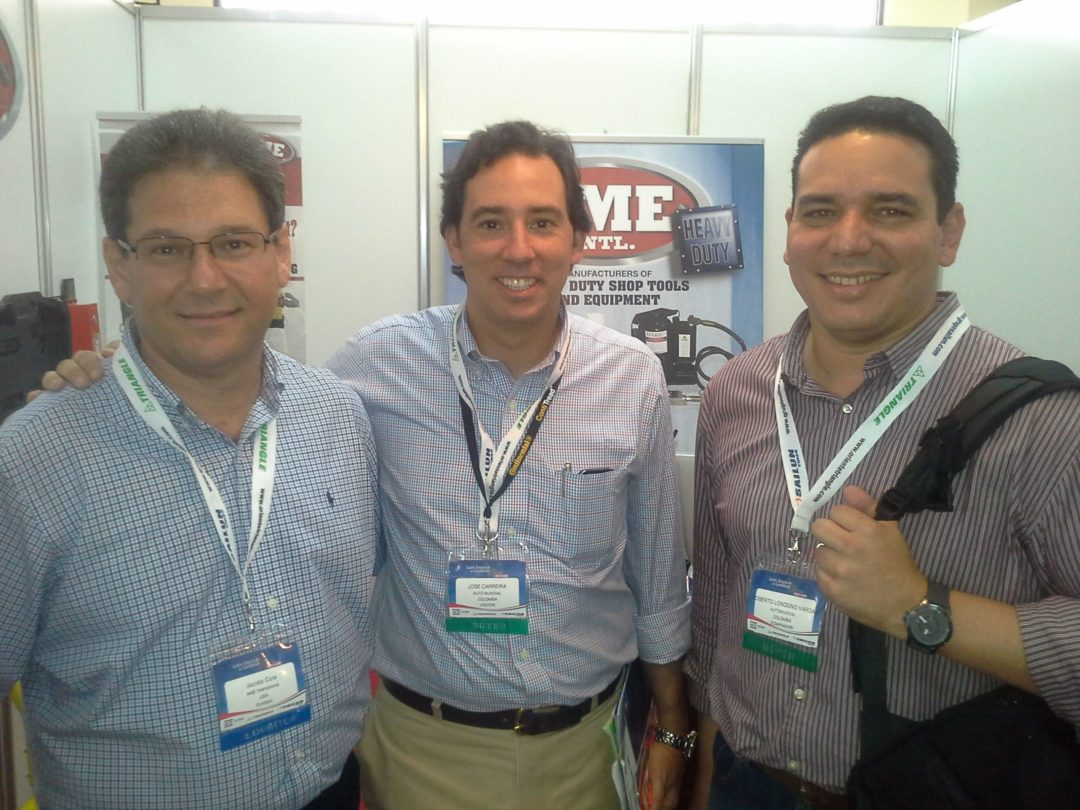 Early results from Latin American expo are positive