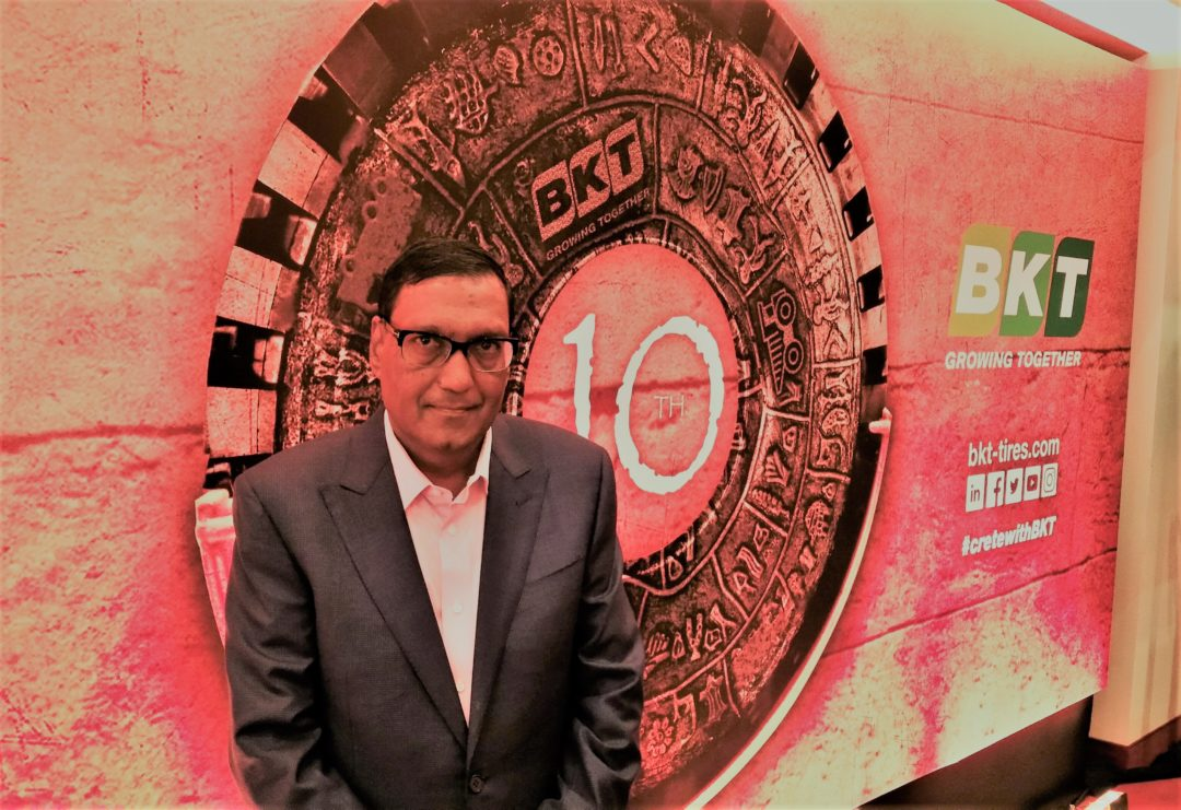 'Earthmax Is a Milestone in BKT's History,' Says Arvind Poddar