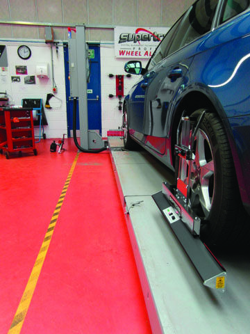 European and American Wheel Alignment Markets Work Almost in Unison