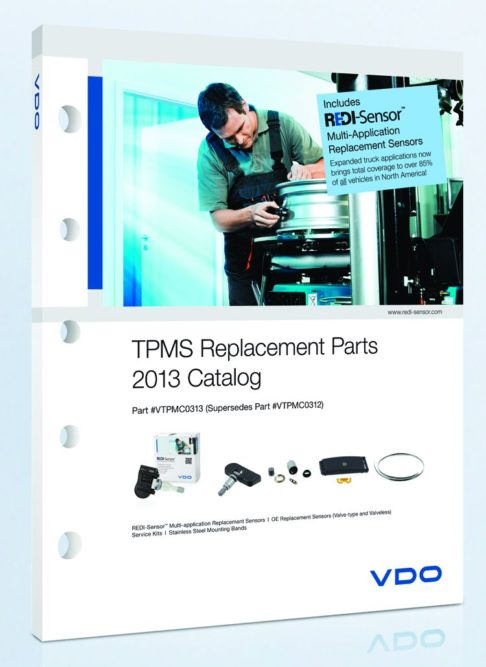 Expanded Coverage Found in Continental's VDO TPMS Catalog