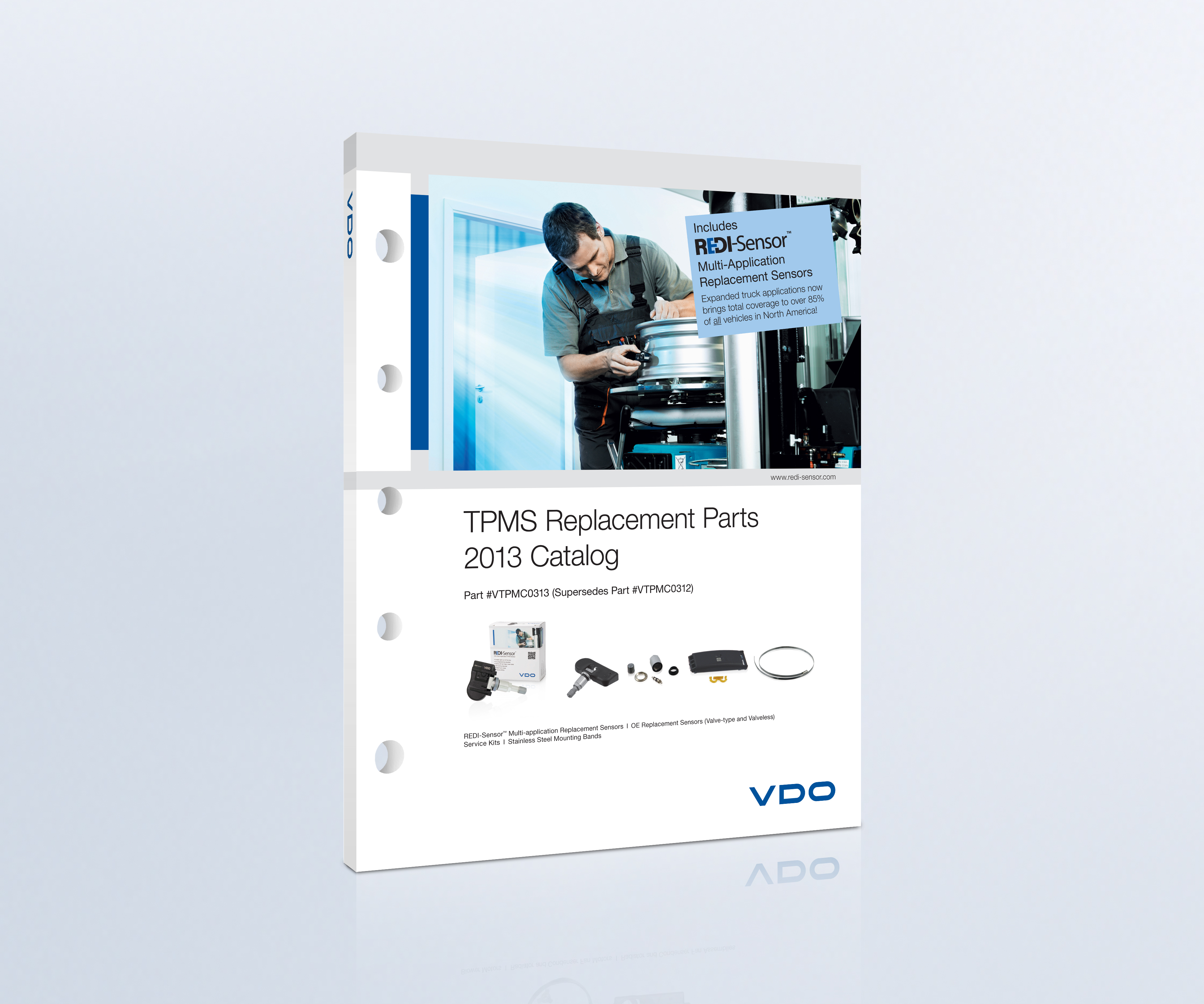 Expanded coverage in VDO TPMS catalog