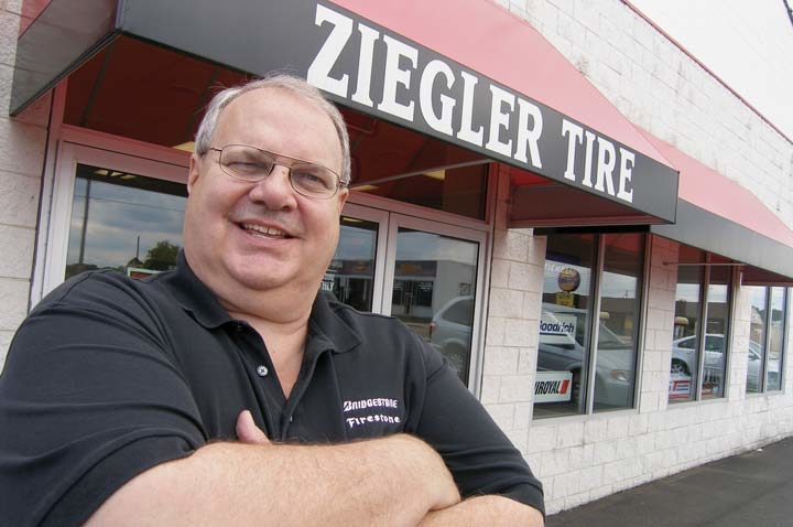 Eyes on the Future for Tire Dealer of the Year Bill Ziegler
