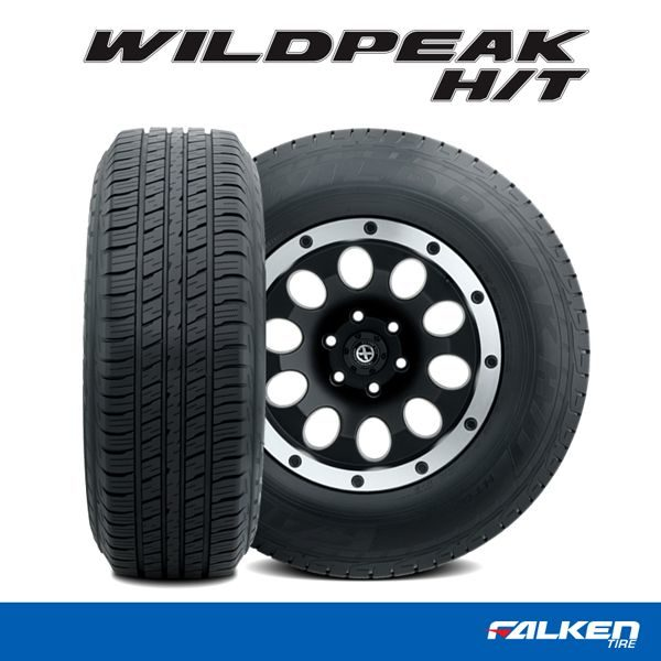 Falken adds sizes to its WildPeak H/T line