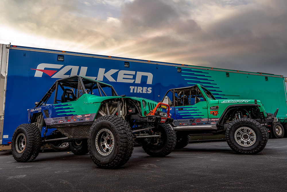 Falken Continues to Compete at King of the Hammers
