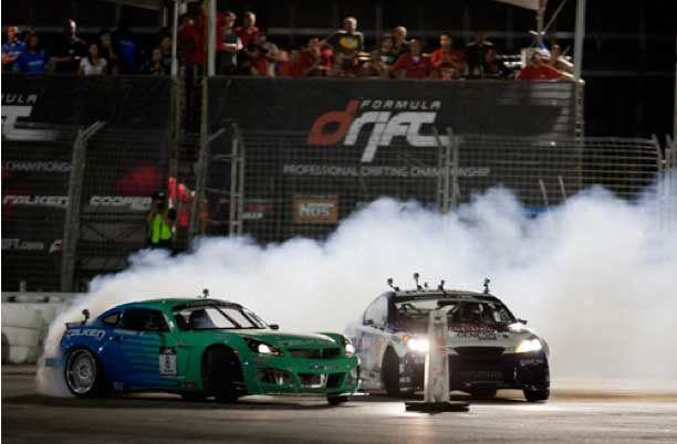 Falken places second at Las Vegas