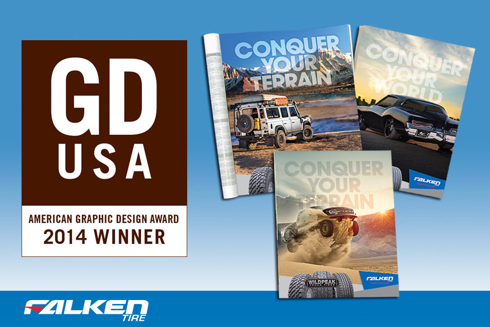 Falken's campaign honored for graphic design