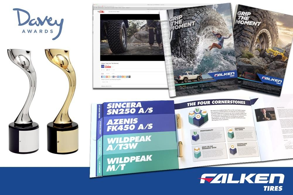 Falken's 'Grip the Moment' Ad Campaign Grabs Awards