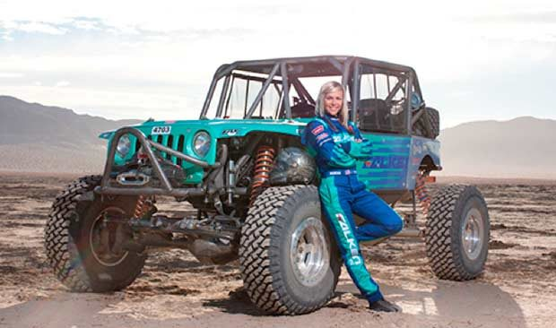 Falken Tire partners with driver Jessi Combs