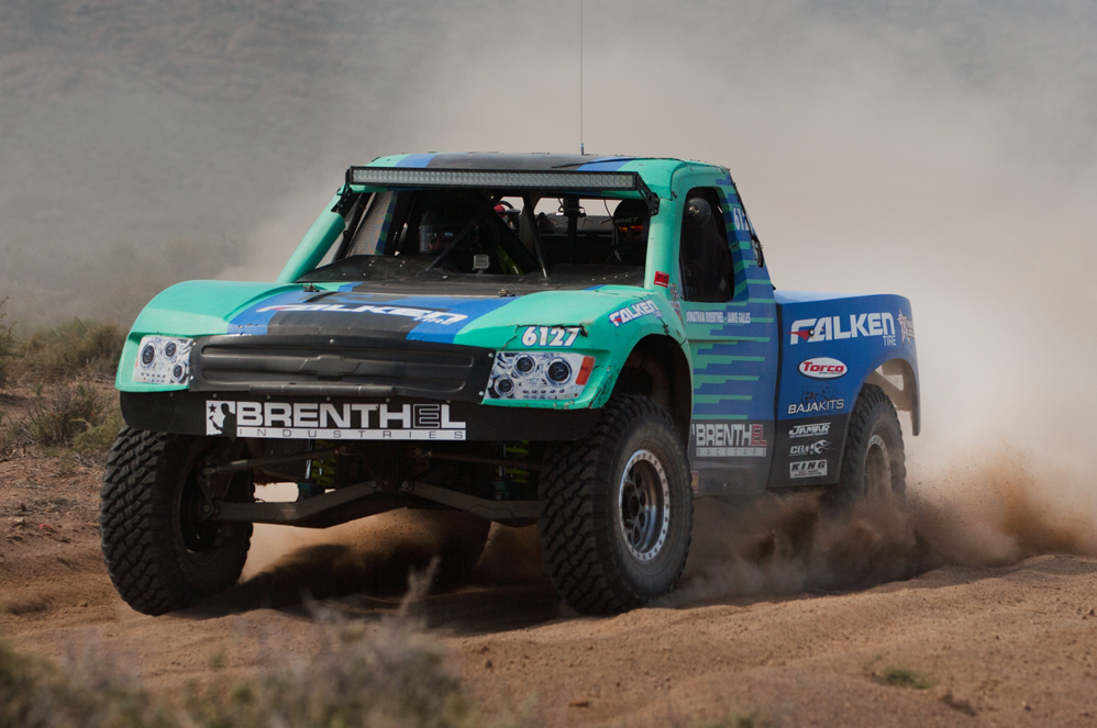 Falken Tire's Team Brenthel takes 3rd place at Silver State 300