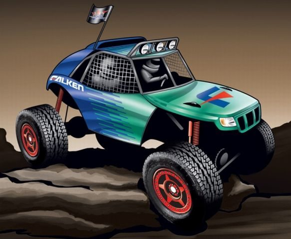 Falken Tire to partner with Clifton Slay and American Rock Rods for 2012 King of the Hammers build