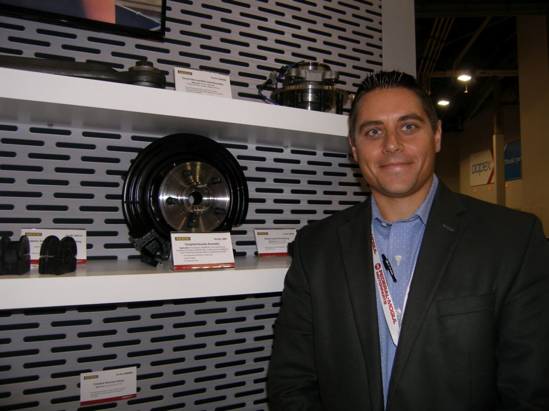 Federal-Mogul Motorparts' Complete Knuckle Assembly Wins AAPEX Honors