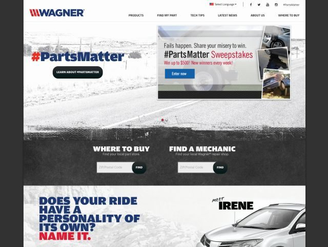 Federal-Mogul's New Wagner Website Features Mobile-Friendly Tools