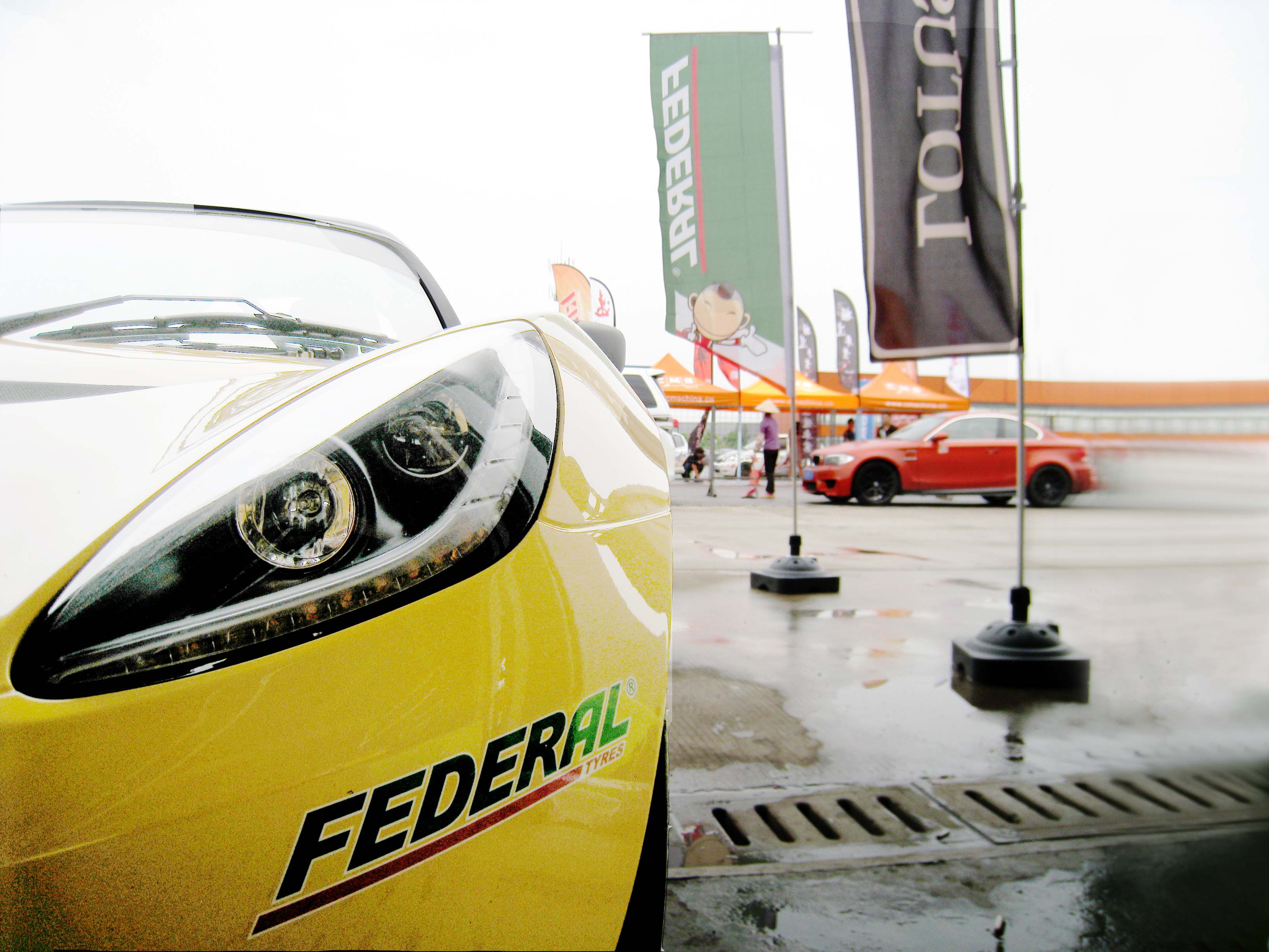 Federal partners with Lotus Greater China Race