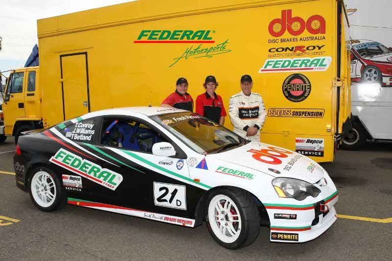 Federal Tyre and Conroy Motorsport aim for the win at the 6-Hour Production Championship in Australia
