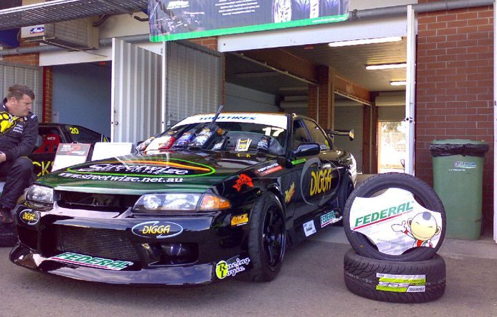 Federal Tyres scored its most tangible results ever in 2008 Drift Australia Championship