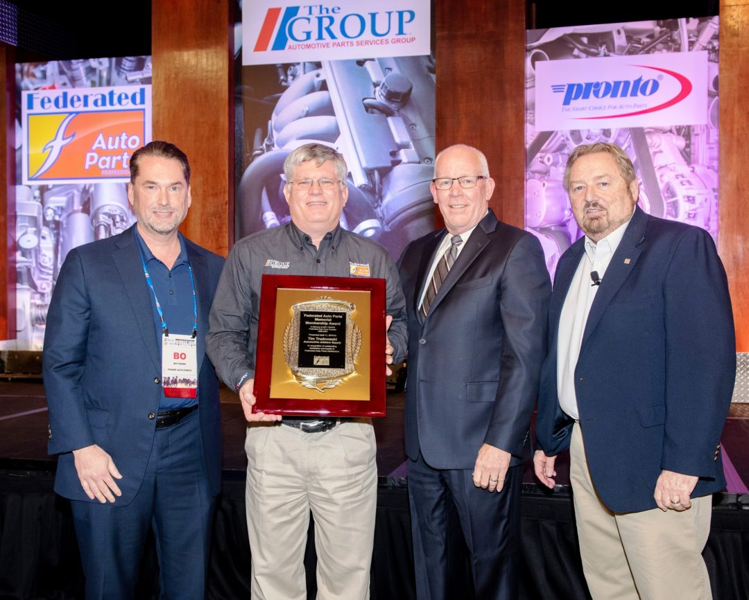 Federated Auto Parts Honors Tim Trudnowski