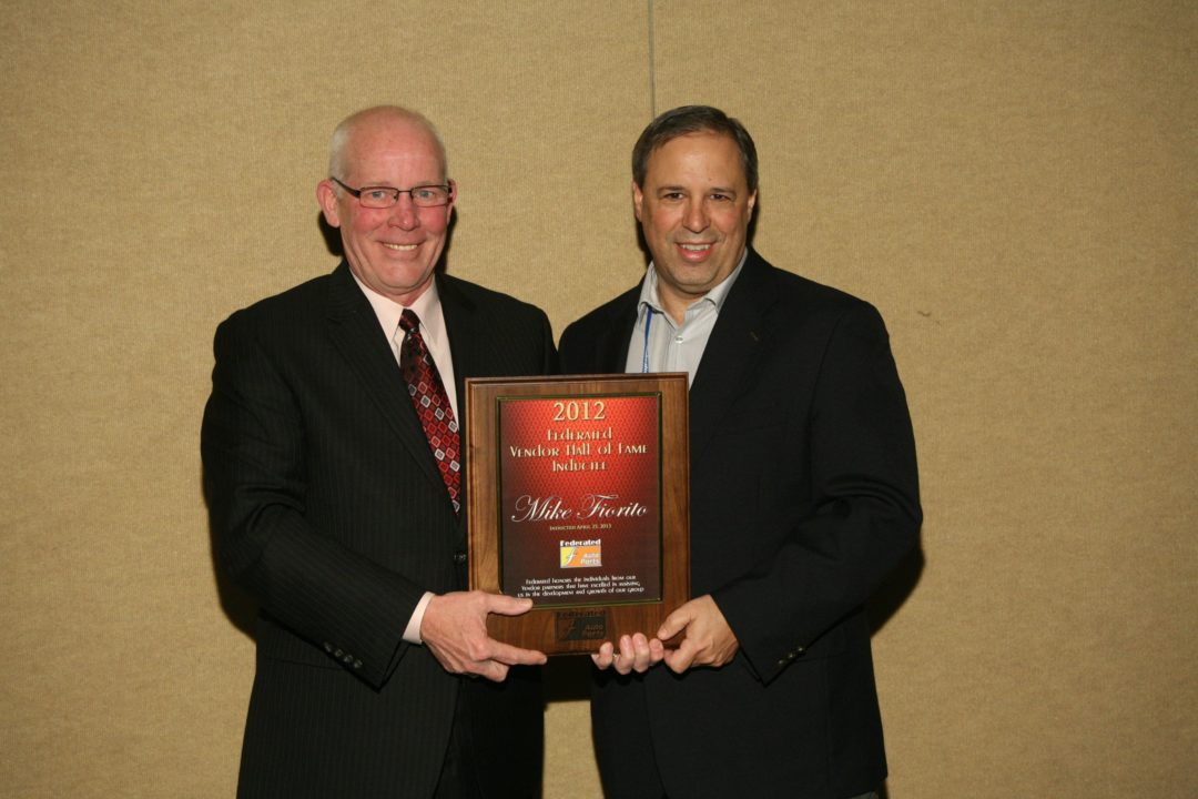 Federated inducts Fiorito to Vendor Hall of Fame