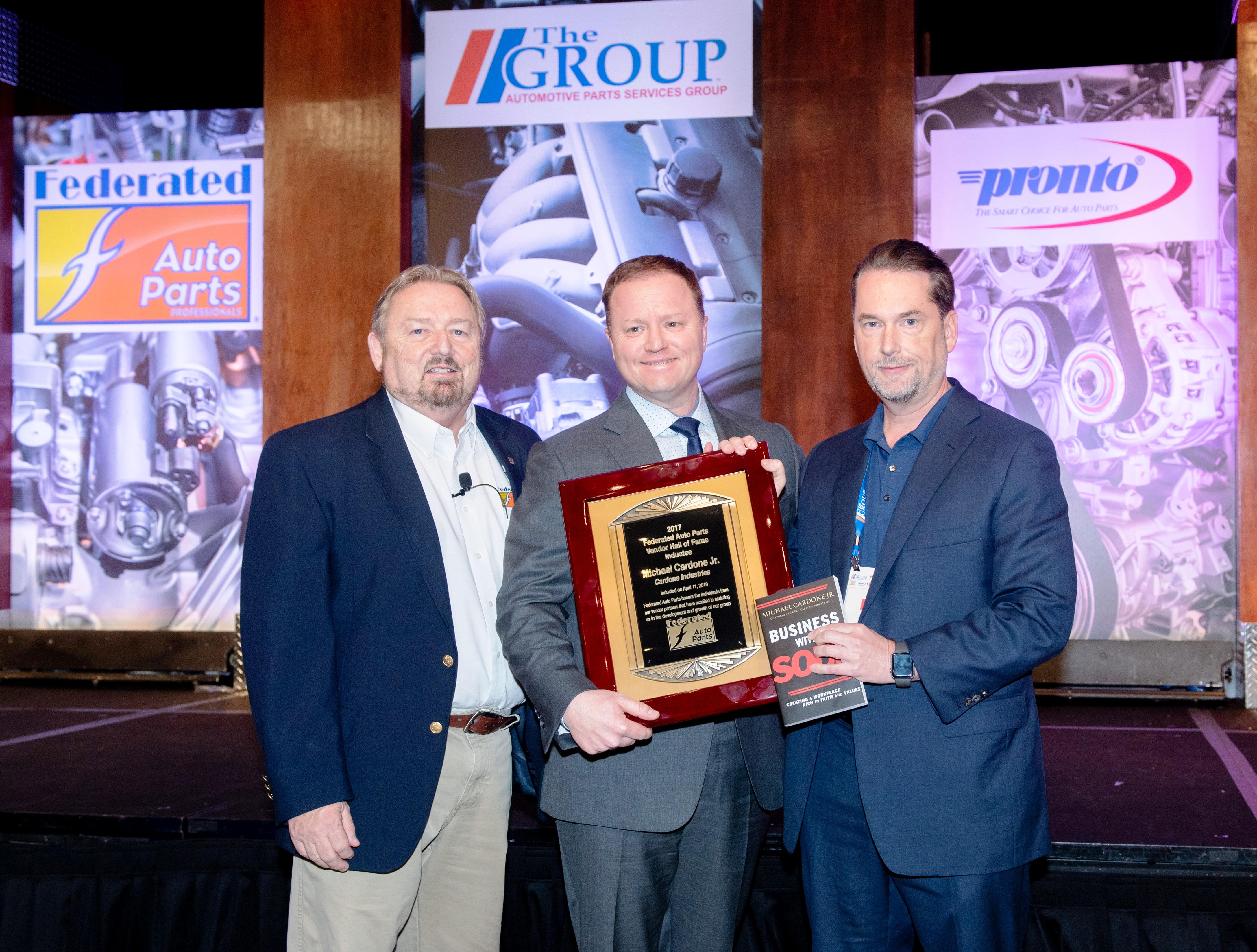 Federated Inducts Michael Cardone Jr. into Vendor Hall of Fame