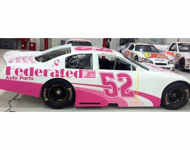 Federated Racing Team turns PINK again