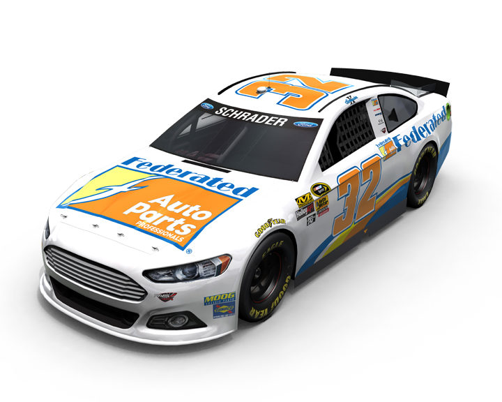 Federated sponsors Kenny Schrader racing