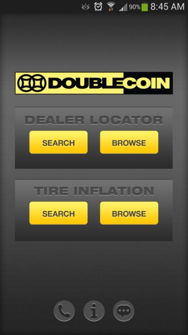 Find a dealer with the Double Coin app