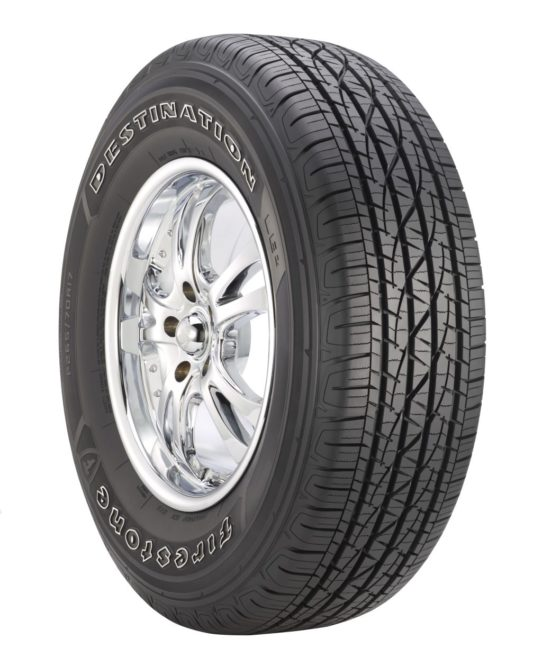 Firestone Destination LE2 Tires Are Designed For All-Season Performance