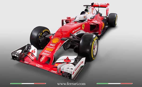 First Photos Of The 2016 Ferrari SF16-H
