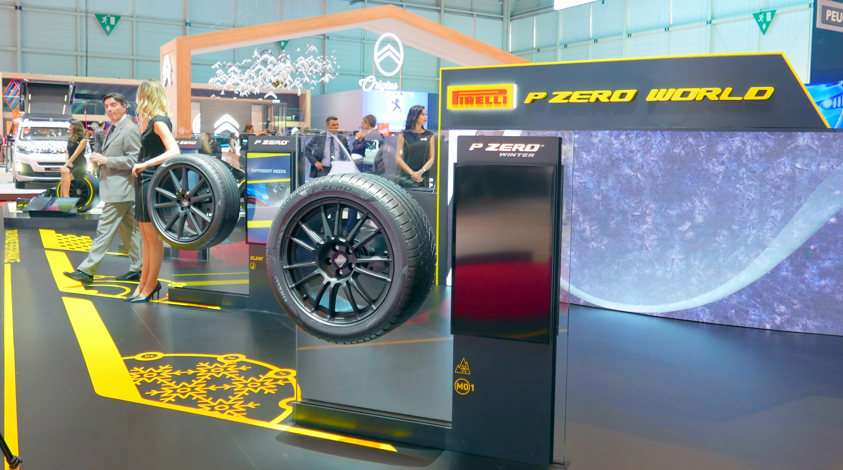 Flying Cars, High-Speed Winter Patterns and 'Hobby' Tires
