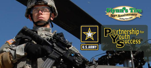 Flynn's Tire partners with U.S. Army