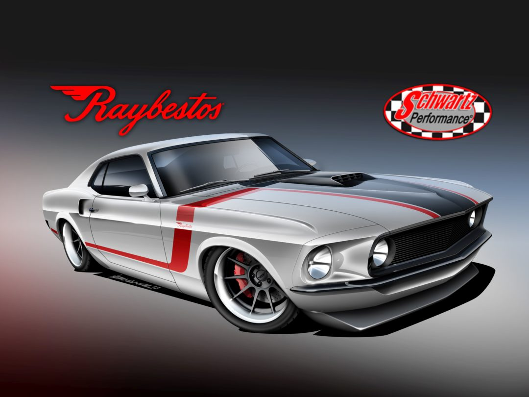 Follow the rebuild of the Raybestos '69 Mustang